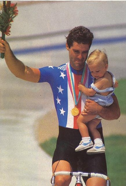 Mark Gorski 1984 gold medal