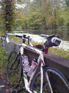 My Fuji by the canal