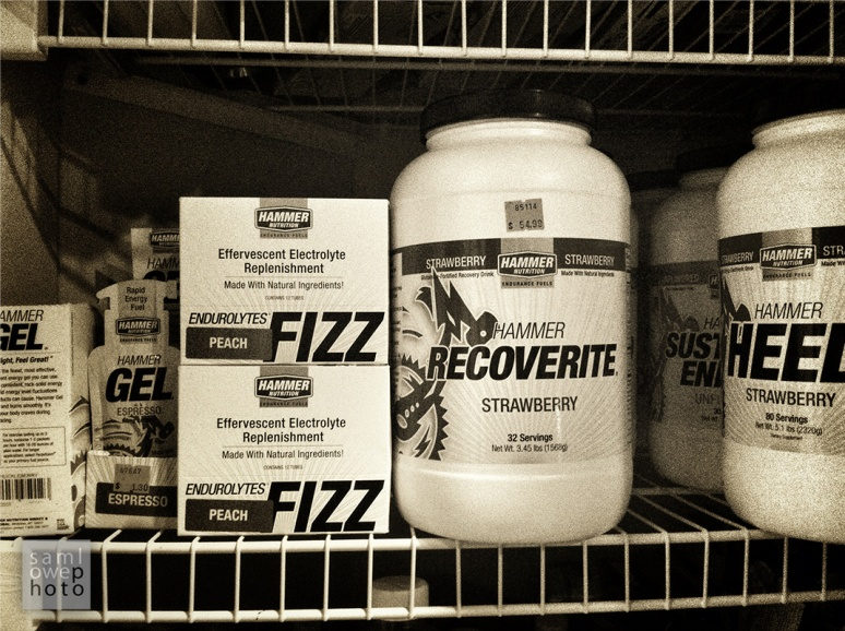 Every racer has an apothecary. Most of us stock it with tasty bits that are completely street-legal. Mmmm. Glutamine.